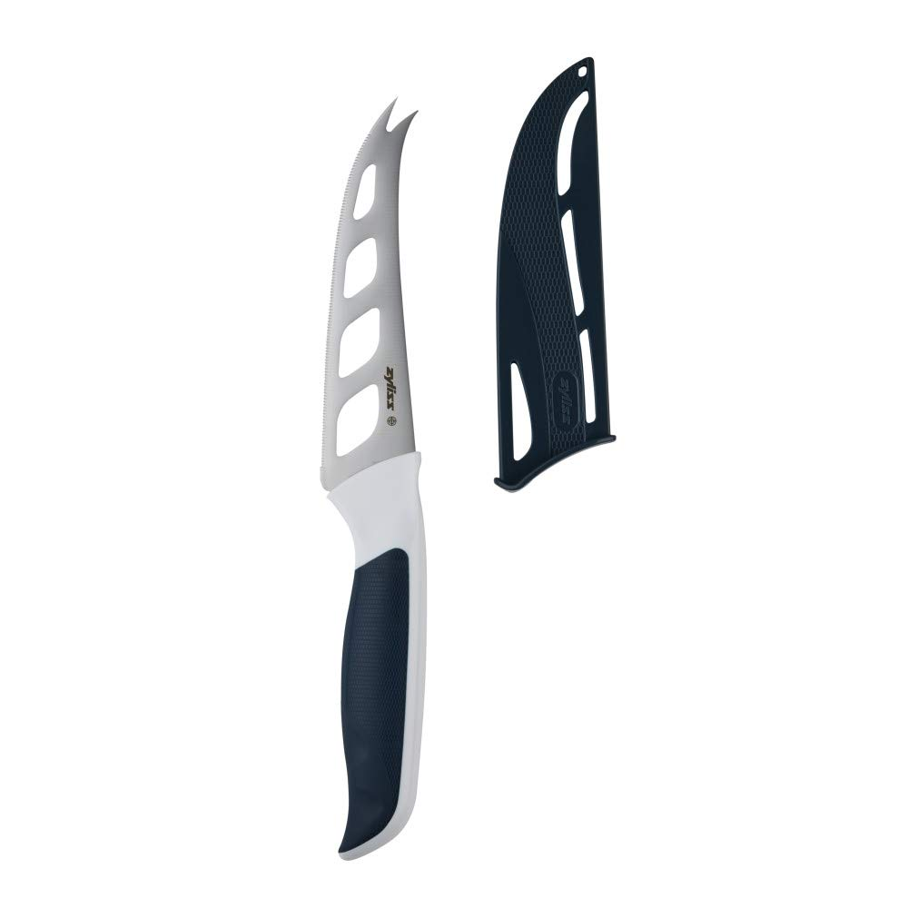 "Zyliss E920219U Comfort 4.5"" Cheese Knife, Gray/White"