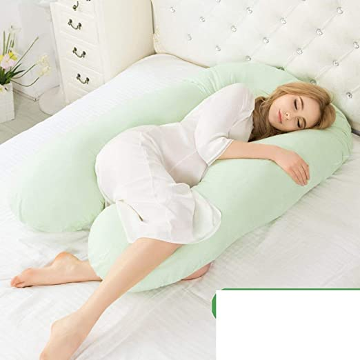 ACZZ Almohada para el embarazo Cintura Almohada para dormir ...