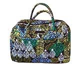 Vera Bradley Weekender Carry-On Travel Bag,Caribbean Sea