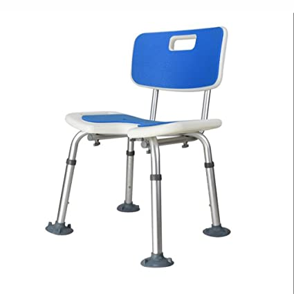 Amazon.com: Bath Chair for Elderly and Aluminum Alloy Shower Seats ...