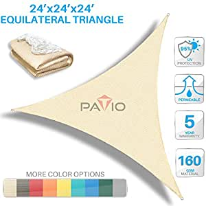 Amazon Com Patio Paradise 24 X24 X 24 Beige Sun Shade