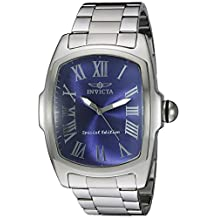 Invicta Men's 21391 Lupah Analog Display Quartz Silver Watch