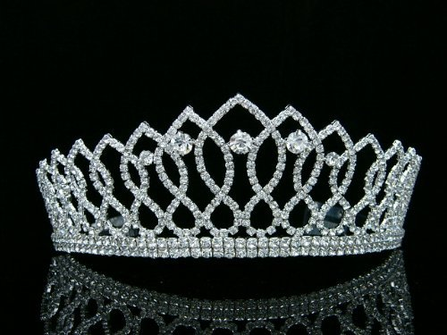 Pageant Rhinestones Crystal Bridal Wedding product image