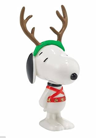 Amazoncom Department 56 Peanuts Snoopy By Design Sled Dog