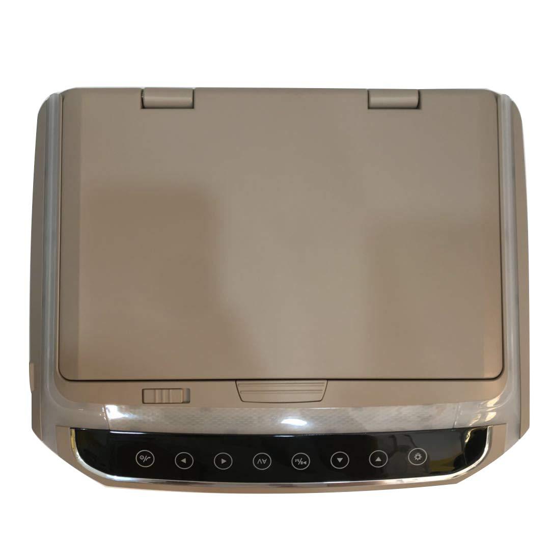 RVD10HD-BG 10.1インチフリップダウンモニターDVDプレーヤー、12V、HDMI、USB、ゲーム、マウントモニターおよびIRトランスミッタ、LED(800 * 480 ppi) B07RR9QW6W