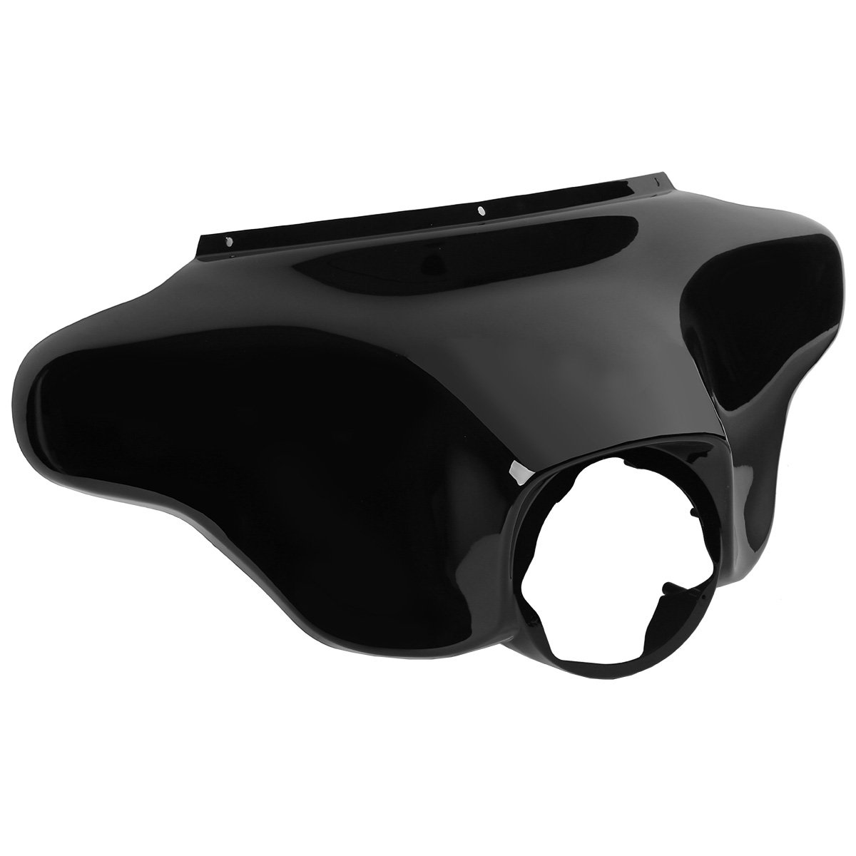 XMT-MOTO Vivid Black Front Batwing Upper Outer Fairing For Harley Touring Models 1996-2013(OEM Part No. 58236-96)