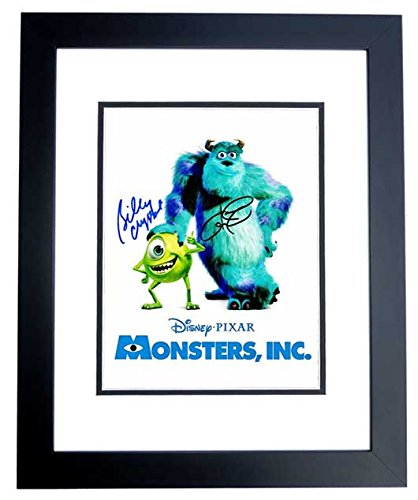 Billy Crystal and John Goodman Signed - Autographed MONSTERS, INC 11x14 inch Photo BLACK CUSTOM Frame - Guaranteed to pass PSA or JSA - Mike and Sully - Guaranteed to - Sully Frame