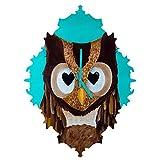 Deny Designs  Mandy Hazell, Owl Love You, Baroque Clock, Medium