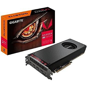 Gigabyte GV-RXVEGA64-8GD-B AMD Radeon RX VEGA 64 8G Graphic Cards