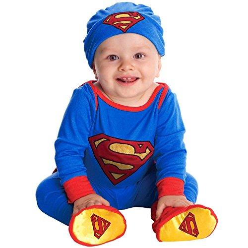 [Superman Onesie Costume - Infant] (Raven Dc Costume)