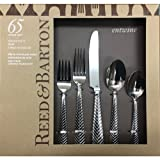 Reed & Barton, Entwine, 18/10 Stainless Steel 65 Piece Set
