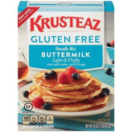 Krusteaz Pancake Mix Gluten Free (Pack of 8)