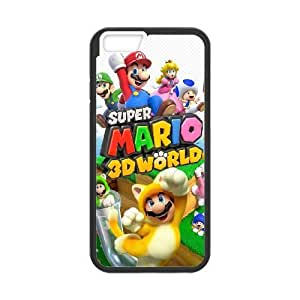 iPhone 6 4.7 inch Cell Phone Case Black super mario 3d world Popular games image WOK0694808