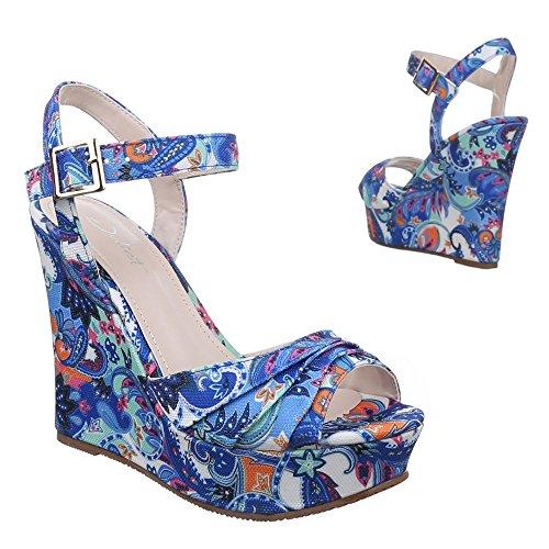 Ital-Design - Sandalias / Sandalias Mujer Azul - azul