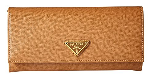 prada-womens-leather-wallet-tan-one-size
