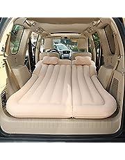 Vinteky SUV Colchón Inflable para Coche Cama con Bomba y Almohadas, Colchon Hinchable de Coche para Descansar, Viajes, Camping, Piscina, Parque, Playa, Patio Trasero