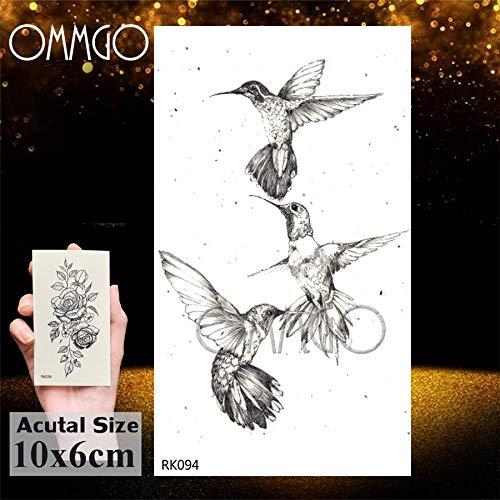 Yyoutop DIY Águila Calva Pájaros Negros e Tatuajes Etiqueta ...