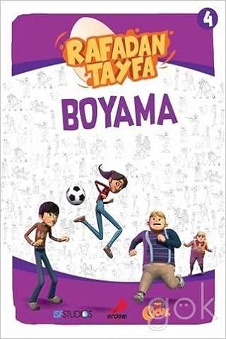 Rafadan Tayfa Boyama 4 Kolektif 9786053499619 Amazoncom Books