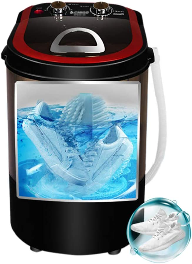 NO BRAND Lavadora Portátil Lavadora De Zapatos Profesional Mini Lavadora Lavadora Eléctrica Pulsador Ciclónico Cepillo De Limpieza Profunda 0-15 Minutos Tiempo De Lavado