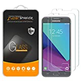 [2-Pack] Samsung Galaxy J3 Emerge Tempered Glass Screen Protector, Supershieldz Anti-Scratch, Anti-Fingerprint, Bubble Free, Lifetime Replacement Warranty
