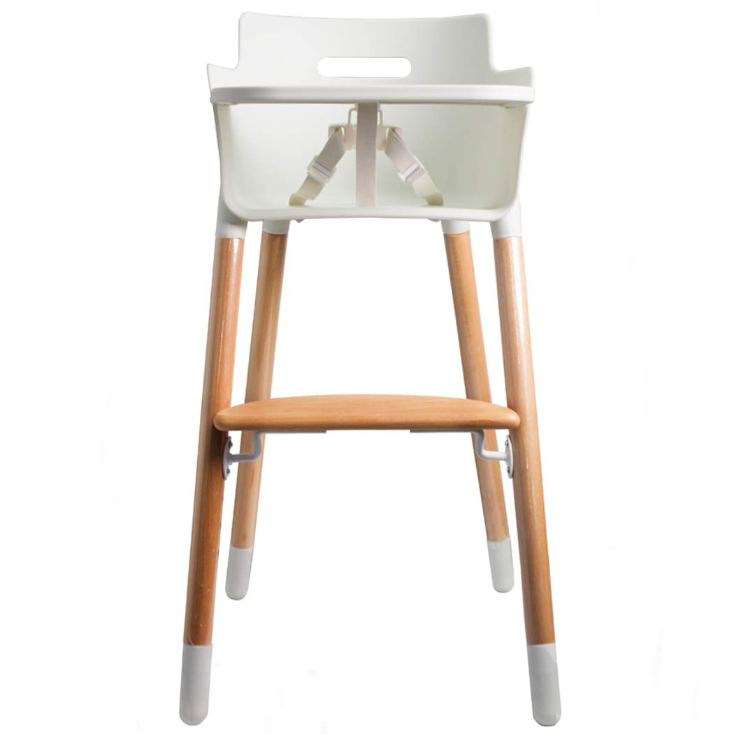 Wooden High Chair for Toddlers and Babies Modern Feeding Highchair Solution with Tray Flesser M1301