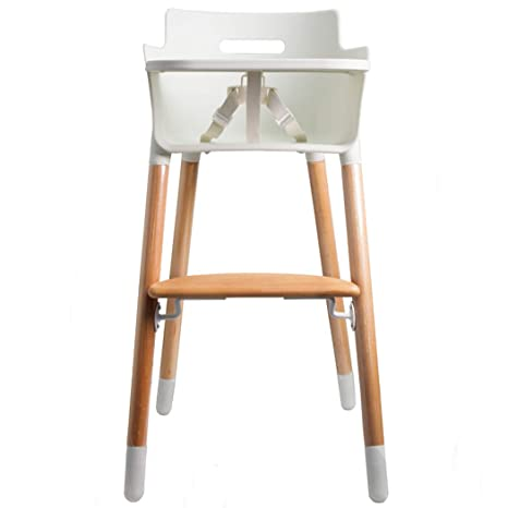 c55346db4716 Buy Wooden High Chair for Babies and Toddlers - with Harness, Removable  Tray, and Adjustable Legs Online at Low Prices in India - Amazon.in