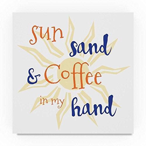 Erin Sand - Trademark Fine Art Erin Clark Sun Sand, 35x35-Inch