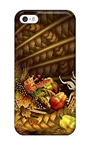 Hot pc Cover Case For Iphone/ 5/5s Case Cover Skin - Thanksgivings