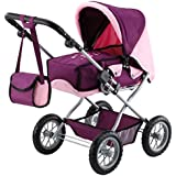 Bayer Design 1505700 - Kombi Puppenwagen Grande, pflaume