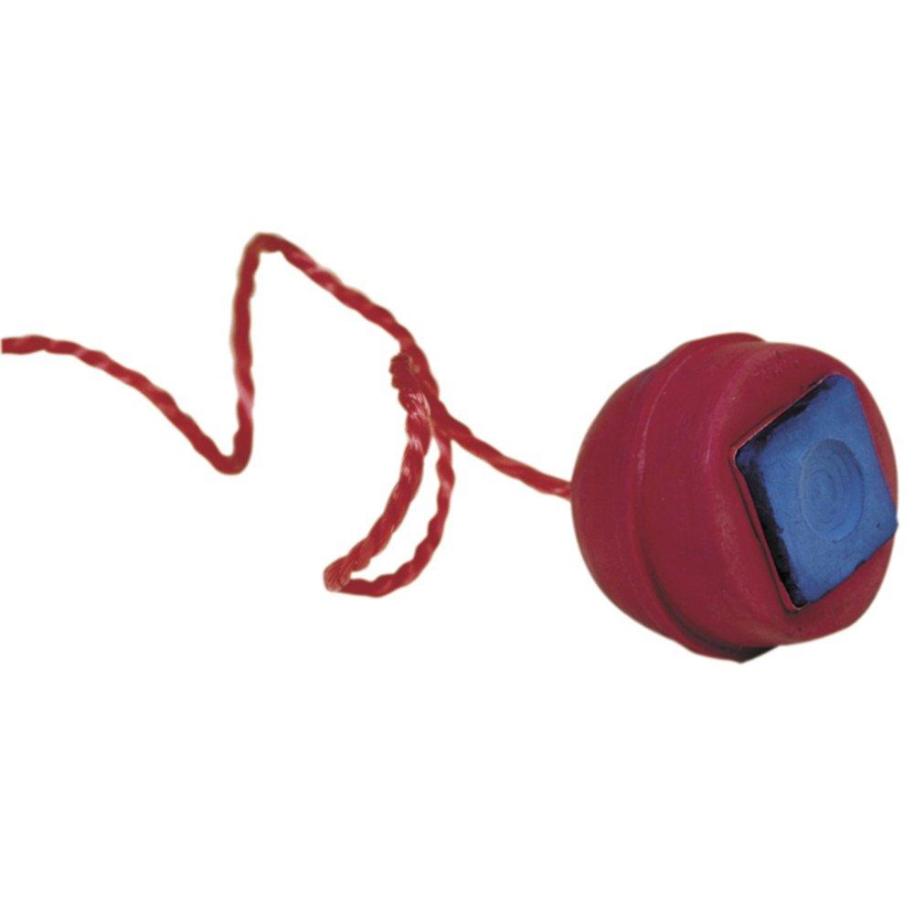 Porta tizas billar goma color rosa + cuerda Manuel Gil