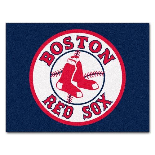 FANMATS MLB Boston Red Sox Nylon Face All-Star Rug - Mlb Team Rug