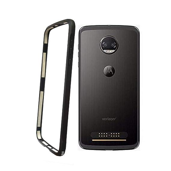 new product f4f14 fba92 for Motorola Moto z2 Force Phone Bumper Frame Moto mods Style (Moto z2  Force Bumper)