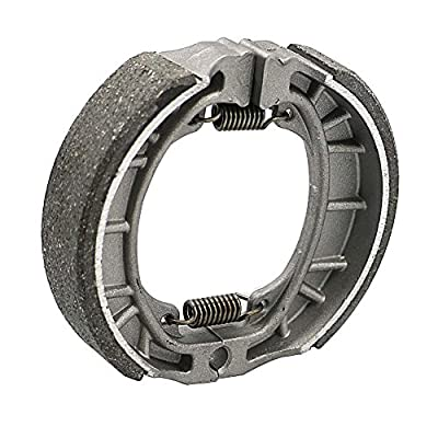 Alpha Rider Brake Shoes Water Grooved Front or Rear For Honda Z 50 QA50 QA C CL CT 70 CT70 CT70H: Automotive
