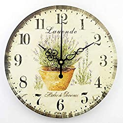 Living Room Decoration Wall Clock Mute Wall Clock Home Decor Large Wall Clock Modern Design Shabby Chic Orologio Parete style 1 14 inch