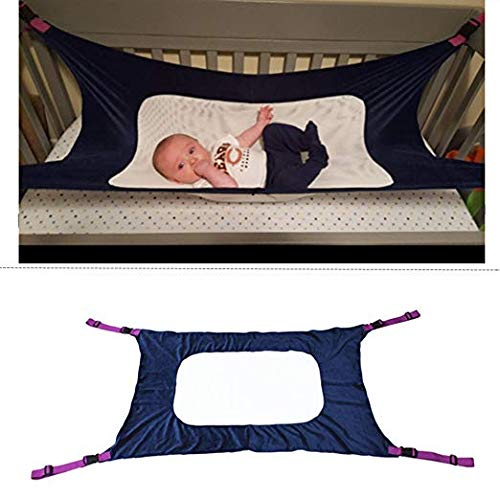 2018 Enhanced Hammock for Newborn-Baby Hammock for Crib, Adjustable Comfortable Safety Sleeping Bed Strong Durable Nursery Bed Cradles for Infant
