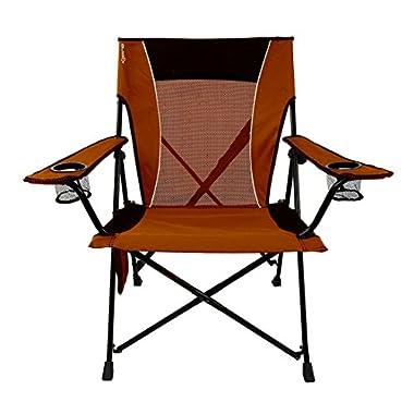 Kijaro Dual Lock Folding Chair (Victoria Desert Orange)