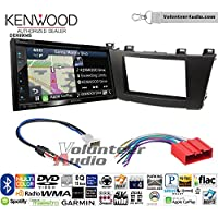 Volunteer Audio Kenwood Excelon DNX694S Double Din Radio Install Kit with GPS Navigation System Android Auto Apple CarPlay Fits 2012-2013 Mazda 3