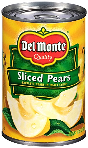 Del Monte Sliced Pears, 15.25 oz