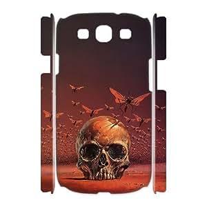 Case Of Artsy Skull Customized Hard Case For Samsung Galaxy S3 I9300 wangjiang maoyi