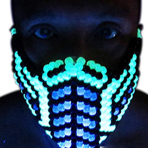 Mortal Kombat Costume Kandi Masks by Kandi Gear (glow2)