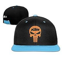 JSWALA Unisex Kids Racing Skull HIP Hop Baseball Caps Snapback Hats