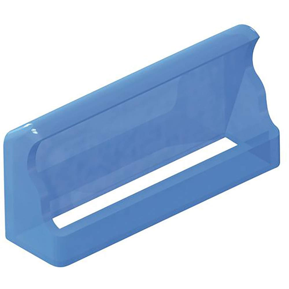 Cover; Fuse; Soft PVC; 20 mm L x 6.1 mm W x 12.7 mm H; Panel Mount, Pack of 100