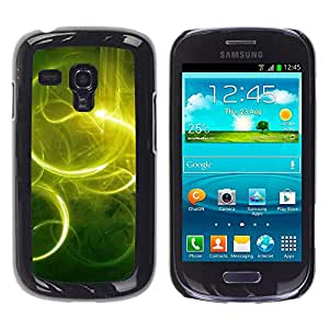 Exotic-Star ( Nature Beautiful Forrest Green 59 ) Fundas Cover Cubre Hard Case Cover para Samsung Galaxy S3 III MINI (NOT REGULAR!) / I8190 / I8190N