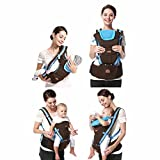 Hip Seat Baby Carrier, Plus Size Friendly, 3 months+ Blue