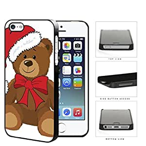 Christmas Themed Teddy Bear Hard Plastic Snap On Cell Phone Case Case For Htc One M9 Cover