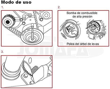 JOMAFA CONJUNTO DE CALADO DE DISTRIBUCION PARA BMW MINI 1.6D W16 Y CITROEN PEUGEOT PSA 206, 207, Partner, Picasso: Amazon.es: Bricolaje y herramientas
