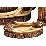 Buck Mountain Antler Lodge Soap Dish - Cabin Bathroom Decor