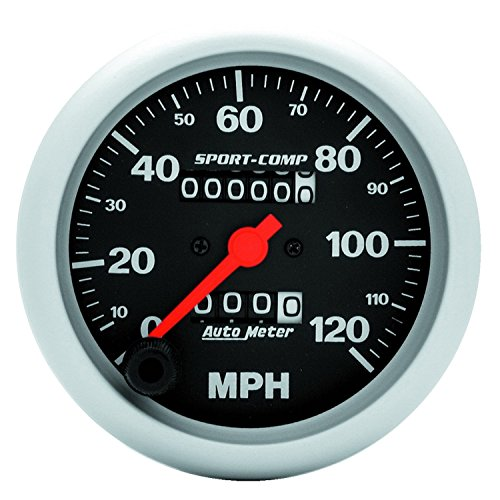 Auto Meter 3992 Sport-Comp In-Dash Mechanical Speedometer by Auto Meter (Image #1)