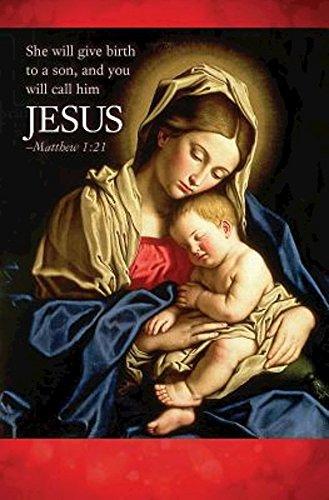 Jesus Nativity Christmas Bulletin (Pkg of 50)]()