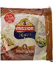 Mission Wraps Multigrain - 6 Paquetes de 370 gr - Total: 2220 gr